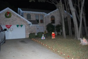 Some Christmas LED Lighting, this can be temporary or perminant lights